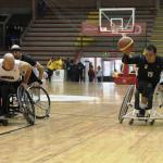 'Mexico wheelchair basketball square' logo