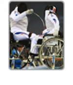 Wheelchair fencers