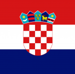 'Croatia flag square' logo