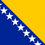 'Bosnia and Herzegovina flag square' logo