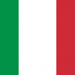 'italy flag square' logo