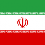'Flag Iran square' logo