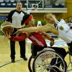 'Canada v Germany womens wheelchair basketball' logo