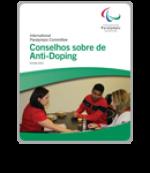 Anti-doping leaflet Brazilian