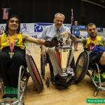 'No 6 Australia crowned wheelchair rugby champions for the first time ' logo