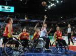 Spanish wheelchair basketball team