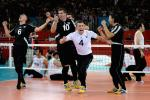 Bosnia's men's sitting volleyball team