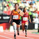 'Marlou van Rhijn wins gold at Lyon 2013' logo