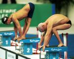 Athletes in the pool, Sydney 2000 Paralympic Games