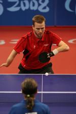 Danish Table Tennis Player