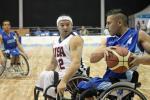 Wheelchair Basketball match - Colombia vs USA