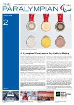 The Paralympian 2008 Issue 2 Cover