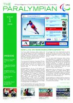 The Paralympian 2006 Issue 1 Cover