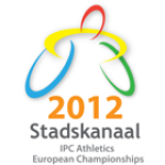 '2012 IPC Athletics European Championships Stadskanaal' logo