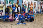 Kids from social programmes invited by Brazil's sponsor to cheer for athletes