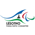 The logo of the National Paralympic Committee of Lesotho
