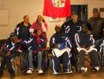 Bermuda's boccia team