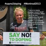 Jessica Long says NO! to Doping