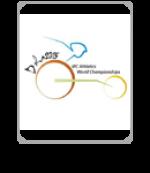 Doha 2015 logo icon