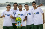 Brazil's Paralympic footballers