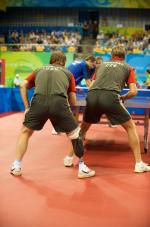 Team Croatia in a Table Tennis match