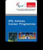 IPC Athlete Career Programme Leaflet highlight