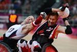 USA v Canada wheelchair rugby