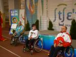 Veronika Vadovicova, Iurii Stoiev and Waldermar Andruszkiewicz finished on the podium at the IPC Shooting World Cup