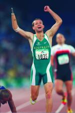 Athletes in the Paralympic Games Sydney 2000