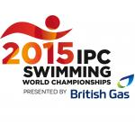 '2015 IPC Swimming World Championships Glasgow' logo