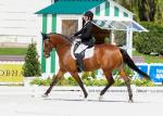 Women riding a horse