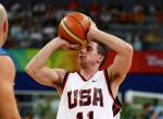 Steve Serio of United States competes during the Wheelchair Basketball match between United States and Israel during the 2008 Beijing Paralympics