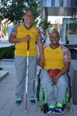 Husband and wife Joe Gonzalez Betancur and Yesenia Restrepo Muñoz will compete for Colombia in athletics at Toronto 2015.