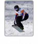 Snowboard highlight icon