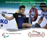 Click here for more informations about the Eger 2015 IPC Powerlifting European Open Championships.
