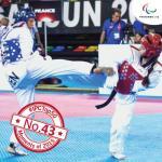 'Top 50 Moments 2015 No 43 Russia triumph at parataekwondo Worlds ' logo