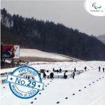 'Top 50 moments 2015  No 29 PyeongChang 2018 to be biggest Paralympic Winter Games ever' logo