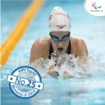 'Top 50 moments 2015  No 25' logo