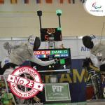 'IPC Top 50 moments 2015  No 23 Wheelchair fencer Beatrice Vio closing in on perfect season' logo