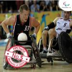 'wheelchair basketball' logo