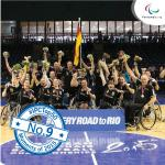 'German womens wheelchair basketball team' logo