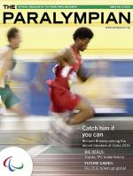 Paralympian No 3 2015 cover