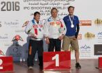 Three para-sport shooters claimed medals in Al Ain, UAE.