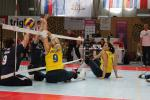 Sitting volleyball match