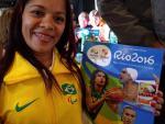 Paralympic swimmer Joana Neves