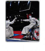 Sport A-Z - wheelchair fencing - icon