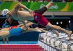 Dalton Herendeen in the Swimming Heats at Rio 2016