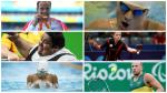 Collage of six sport photos