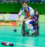 Boccia sports icon