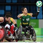 Wheelchair Rugby Icon